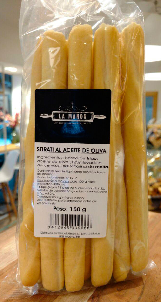 Stirati al acetite de Oliva